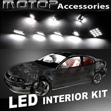 6pcs White LED Bulb Interior Light Package Kit For Dodge Neon 1998-2005