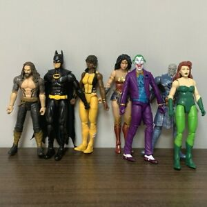 "DC Justice League Aquaman Woder Woman Joker Super Hero 6"" Action Figure Toy Gift"