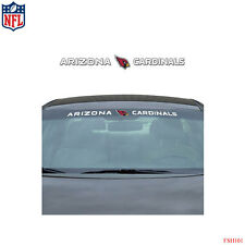 Brand New NFL Arizona Cardinals Car Truck SUV Windshield Window Decal Sticker