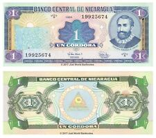 Nicaragua 1 Cordoba 1995 P-179 Banknotes UNC