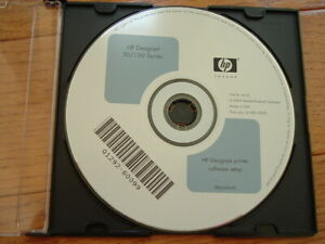 Original Mac OS Start up disk for HP DesignJet 30,130 Plotters.Drivers,Manuals