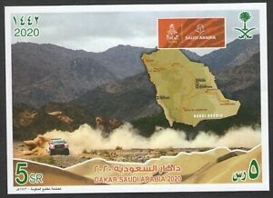 Saudi Arabia Dakar Rally Miniature Sheet 2020  MNH