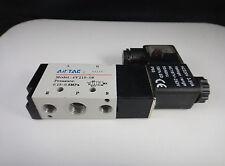 New AC110V 4V210-08 5 Ways 2 Position Single Solenoid Pneumatic Air Valve 1/4