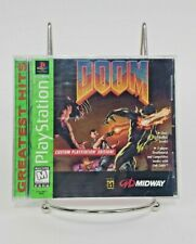 Doom (Sony PlayStation 1, 1995) Greatest Hits PS1 Video Game CIB Complete TESTED