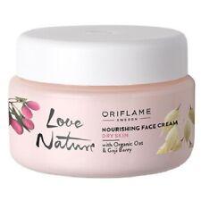 ORIFLAME LOVE NATURE NOURISHING FACE CREAM ORGANIC OAT & GOJI BERRY - DRY SKIN