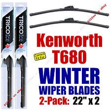 WINTER Wipers 2-Pack Premium Grade - fit 2013-2016 Kenworth T680 - 35220x2