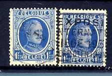 BELGIUM - BELGIO - 1927-1928 - Re Alberto I
