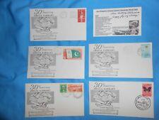 Ann Pellegreno 1967 30Th Anniversary Of Amelia Earhart Flight Covers+Signed Card