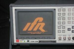 Aeroflex IFR Com120B-2 Service Monitor COM120B Tested Tracking Gen COM 120B