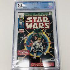 Star Wars #1 1st Printing CGC 9.8 1977 Beautiful Copy