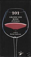 Anderson Burton 101 Grandi Vini Rossi d'Italia