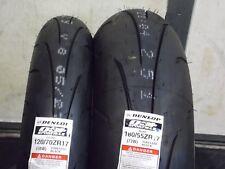 New Dunlop Q3+ Sportmax Tire Set 120/70-17 180/55-17 180/55ZR17 120/70ZR17 Pair