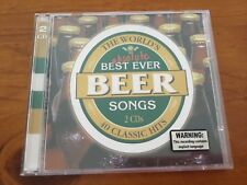 CD - The World's Absolute Best Ever Beer Songs, 2 CDs 40 Classic Hits