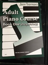 John Thompson Adult Piano Course Piano Sheet Music