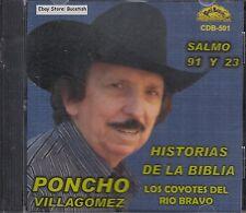 Poncho Villagomez Historia De La Biblia Salomo 91 Y 23 CD Nuevo