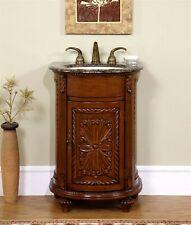 24-inch Granite Stone Top Compact Single Sink Bathroom Vanity Cabinet 0135Bb