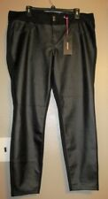 Torrid Black Jeggings Faux Leather Front NEW NWT Size 20