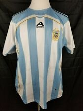 Argentina Home Jersey Soccer World Cup Football Clima Cool XL *MADE IN MEXICO*