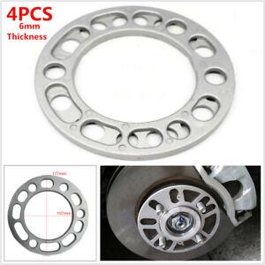 4PCS 107MM ID. Wheel Hub Spacer Adaptor Widen Shims Plate 5/6 Stud Brake Caliper