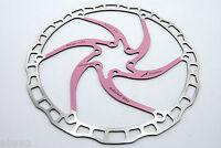 Ashima Airotor Mountain Bike Disc Brake Rotor MTB 203mm 203 mm 136g PINK