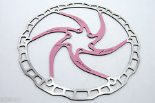 Ashima Airotor Mountain Bike Disc Brake Rotor MTB 203mm 203 mm 136g PINK