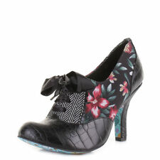 Mid Heel (1.5-3 in.) Women's Irregular Choice Textile Boots