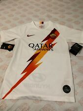 Nike AS Roma Away 2019-2020 Jersey Youth Nwt Size M White
