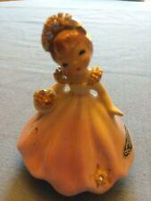 Vintage Original Josef June Birthday Girl, Pink Dress w/ Rhinestones