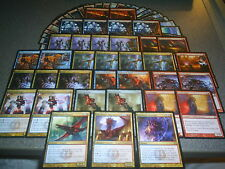 MTG Magic NIV-MIZZET, DRACOGENIUS DECK Guttersnipe Izzet Keyrune RtR LOT Mythic