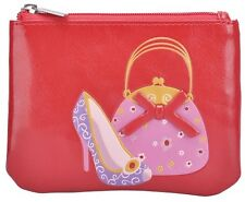 Fashion Designer Anna Nova Amore Fashionista Ladies Coin Purse - RED *New*