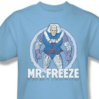 Mr. Freeze T shirt retro 80's cartoon DC Gotham Batman cotton graphic tee DCO321