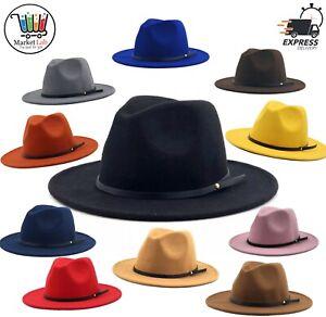 Chapeau élégant mode FEDORA type feutre velours laine daim Femme / Homme Hat