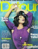 SALMA HAYEK Detour Magazine March 1998 EMBETH DAVIDTZ NEVE CAMPBELL