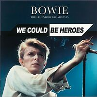 David Bowie Legendary Broadcasts: We could be heroes 3 CD set Digipak