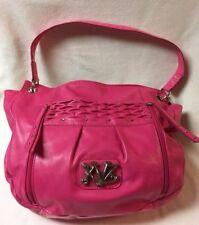 Kathy Van Zeeland Handbag Purse Hot Pink w Chain