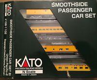 Kato #106-1102 Snoothside Pass. Car Set (B) Union Pacific-2