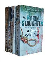 Karin Slaughter 3 Books Grant County Thriller Mystery Series 1 2 3 Kisscut New