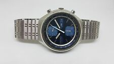 RARE ORIGINAL SEIKO CHRONOGRAPH PANDA 6138 8060 AUTO MAN'S WATCH