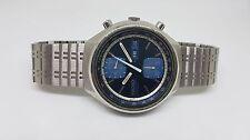 RARE ORIGINAL SEIKO CHRONOGRAPH PANDA 6138 8060 AUTO MAN'S WATCH