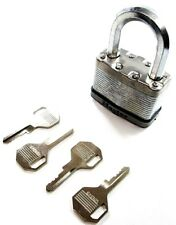 Master Lock M15DLF 64mm Excell Laminated Security Padlock with 4 x Keys.