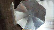 """Foto Studio Professionale ombrello riflettente Argento walimex 43"""" W02102 v.foto"""