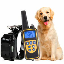 Dog Training Collar 800m Remote Waterproof Rechargeable Electric Shock Vibration