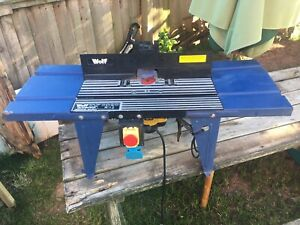 Wolf Router Table with Wolf 1200W Router Built in - All Working - Herefordshire