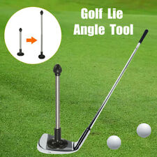 Adjustable Golf Magnetic Lie Angle Tool Face Aimer Alignment Training Aid Rod