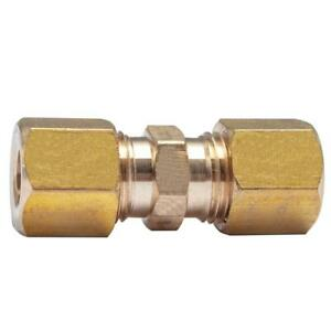 "3/8 "" UNION COMPRESSION FITTINGS BRASS COUPLING"