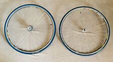 MAVIC SUP, wheelset, 36 holes, Campagnolo Record Hubs, Miche Cassette, 8 Speed