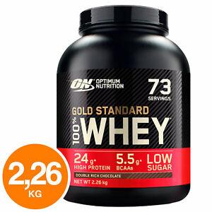 ON Optimum Nutrition Gold Standard 100% Whey Proteine Doppio Cioccolato - 2.26kg