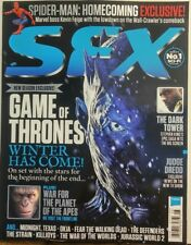 SFX UK August 2017 Game of Thrones Winter Has Come Spider-Man FREE SHIPPING sb