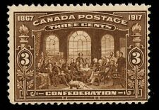 #135 Canada mint never hinged
