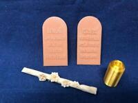Ark of Covenant-10 Commandments-Aaron's Rod-Jar of Mana-From Indiana Jones-BONUS